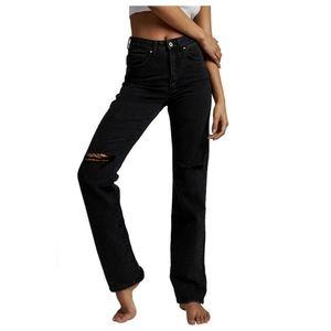 Cotton On Long Straight Leg High Rise Den…